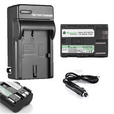 BP-511A Li-Ion Battery 2200mah + Charger for Canon EOSBP-511  40D 50D 5D 20Da