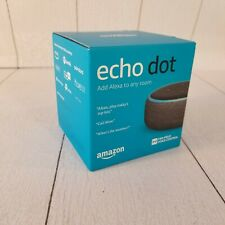 Amazon Echo Dot (3rd Generation) Smart Speaker - Charcoal Brand New