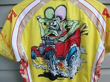 Canari Ed Roth Rat Fink Bike Cycling Jersey Shirt Sedan Delivery Mens Large NWT