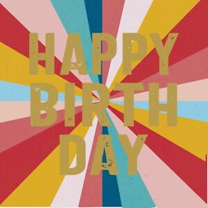 Bright Birthday Greeting Card Sold To Support Royal Trinity Hospice Charity Fun