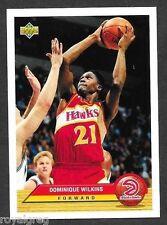 1992-93 Upper Deck McDonalds Promo #P1 Dominique Wilkins Atlanta Hawks HOF NRMT