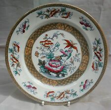 Antique Thomas Till Burslem Lustre Finish  Shanghai Pattern 1867  Plate 7.5""
