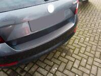 OPPL Ladekantenschutz für Skoda Rapid Spaceback Hatchback 2013- Kunststoff ABS
