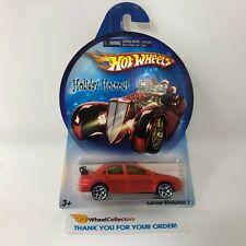 Lancer Evolution 7 * Orange * Hot Wheels Holiday Hotrods * R7