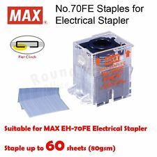 MAX No.70FE Staple Cartridge, 5000 staples for MAX EH-70F Electric Stapler ONLY