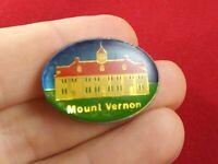 Vintage MOUNT VERNON Button Pin Pinback *QQ16-3