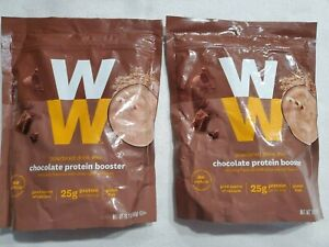 WW Weight Watchers 2 packs Chocolate Protein Booster Powdered Drink exp 2/2022