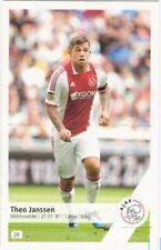 Plus 2011-2012 Panini Like sticker 28 Theo Janssen Ajax Amsterdam