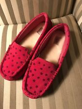 New Ugg Girls Sz 6 Nasir Stars Shoes Flats