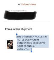 The Umbrella Academy #1 Hotel Oblivion (Dark Horse) Convention Exclusive Variant