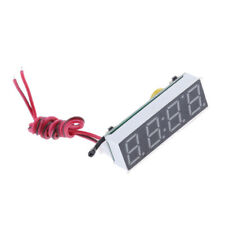 3 in 1 Electronic Clock &Thermometer & Voltmeter Digital LED Display for Car