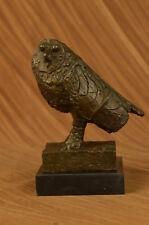 Bronze durchbohrt zwei Vögel Retro Taschenuhr Klassiker für Männer und Frauen HC