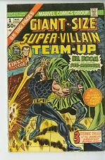 GIANT-SIZE SUPER-VILLAIN TEAM-UP #1 Marvel Comics 1975