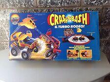 VINTAGE Galoob CRASH & BASH il turbo rodeo GIG 1986 NIB