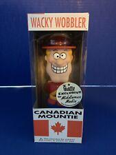 Exclusive Canadian Mountie RCMP Wacky Wobbler