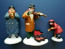 """Department 56 Christmas in the City Heritage Village """"Street Musicians"""" #55646"""