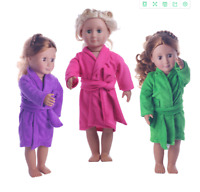 """Hot Latest Handmade Fashion Night gown Fits 18"""" Inch American Girl Doll Clothes"""