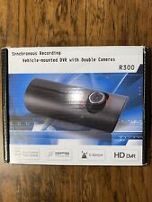 Dash Cam Synchronous Recording Vehicle Mounted DVR With Double Cameras R300