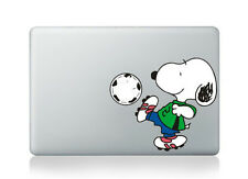 "Snoopy Soccer Macbook Sticker Viny Decal for Macbook Air/Pro/Retina 13""15""17"""