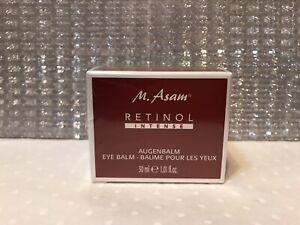 M.Asam Retinol Intense Eye Balm 30ml Brand New in Sealed Box