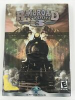 Railroad Tycoon 3 by PopTop Software Complete! Windows PC. Gently Used