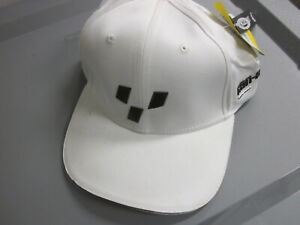 NOS Can Am Caliber White Stretchable Sports Cap Style 447999