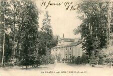 Carte YERRES La Grange au Bois