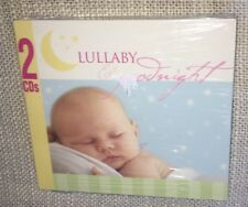 Lullaby & Goodnight by John St. John (2005, 2 CDs) NEW SEALED=FAST FREE SHIPPING