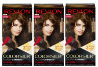 (Pack of 3) Revlon ColorSilk ButterCream 53 / 43G Medium Golden Brown