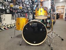 DW Performance Series 13-16-22 Drum Set in Gold Sparkle Finish Ply