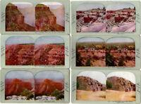 The Grand Canyon and the Cataract Canyon of Arizona, Stereoviews, 25 Card Set