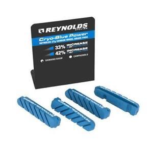 Replacement Bike Brake Pads Reynolds Cryo-Blue Power Pads Shimano 2 Wheel
