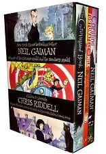 Neil Gaiman & Chris Riddell 3 Books Collection Box Set Coraline, The Graveyard