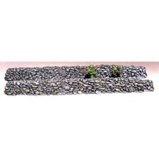 "Armorcast 28mm Resin Terrain ACW026 9"" long walls/small rock Unpainted"