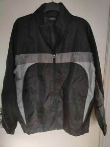 Men's Black Umbro Rain Jacket - Size Small - Great Condition