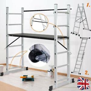Aluminium Scaffolding Ladder Work Platform Multi Combination Multi-purpose Step