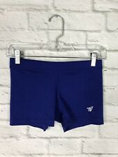 Varsity Womens Cheerleading Blue Bloomers Compression Shorts Size Small
