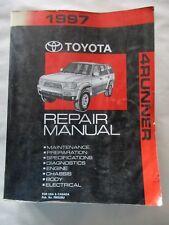 1997 TOYOTA 4RUNNER SERVICE SHOP REPAIR MANUAL