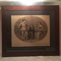 18th Cent Stipple Engraving Francesco Bartolozzi  G.B. Cipriani  Oliver Cromwell