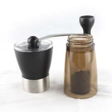 New Stainless Steel Manual Coffee Grinder Burr Mill for Peppers Coffee Beans