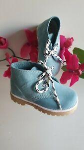 Kinder Jungen Mädchen Sneakers Schuhe MADE IN ITALY Gr. 24 hellblau Blau 112