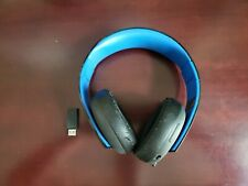 Sony PlayStation Gold Wireless Headset Used