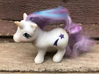 VTG G1 MLP MY LITTLE PONY BABY GLORY UNICORN 1984 HASBRO