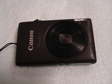 LikeNew Canon PowerShot 300HS IXUS 220 HS 12MP Digital Camera - Black