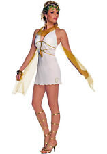 Branded L UK 14 Playboy Sexy Goddess Greek Venus Costume Cosplay Roman Nymph