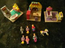 1995 Galoob My Pretty Dollhouse Enchanted Castle Furniture and Figures Lot