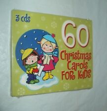 FREE SHIPPING - New/ Sealed 60 Sing-A-Long Christmas Carols For Kids - Audio CD