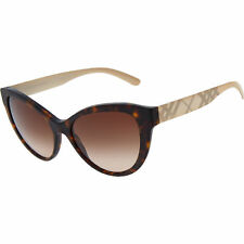 BURBERRY BE4220 Sunglasses - Matte Dark Havana 353613, with Case