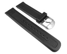 Timex Watch Band PU Band Black 22mm For T49940