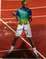 Rafael Nadal Autographed Pristine 8x10 Photo Rare Authentic Original